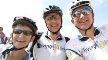 Living Link cyclists